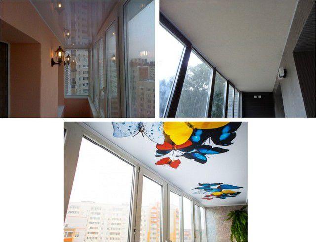 Потолок на балконе из чего сделать - требования и возможные .