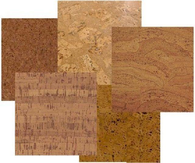 Природная текстура пробки способна украсить любой интерьер