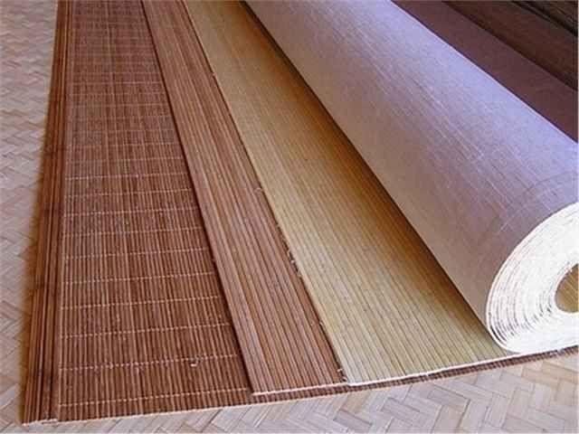 Бамбуковые обои на тонкой тканевой основе