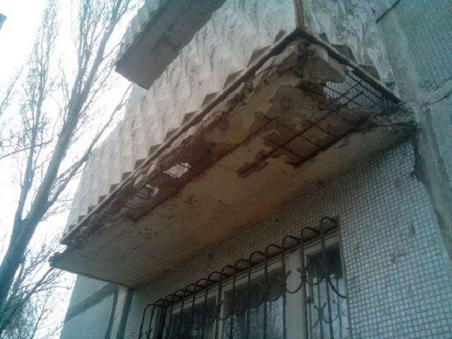 Такая балконная плита вряд ли позволит начинать какие-то серьезные преобразования