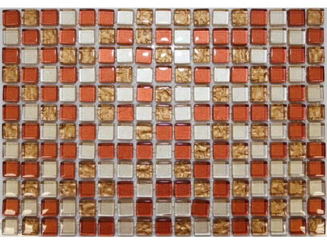 Стеклянная мозаика - самая распространенная