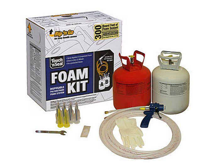Такого комплекта «Foam Kit - 300» достаточно для того, чтобы покрыть 25-миллиметровым слоем термоизоляции 28 квадратных метров!