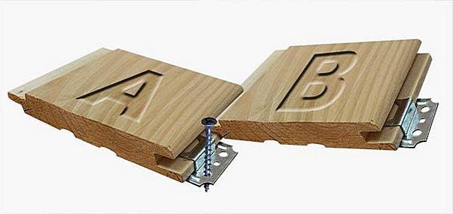 Принцип скрытого крепления вагонки к каркасной конструкции – совершенно несложен