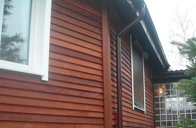 Никогда, наверное, не потеряет популярности отделка фасадов натуральной деревянной вагонкой