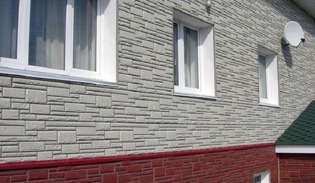 Большое разнообразие отделки предлагают фасадные панели, изготовленные из различных материалов