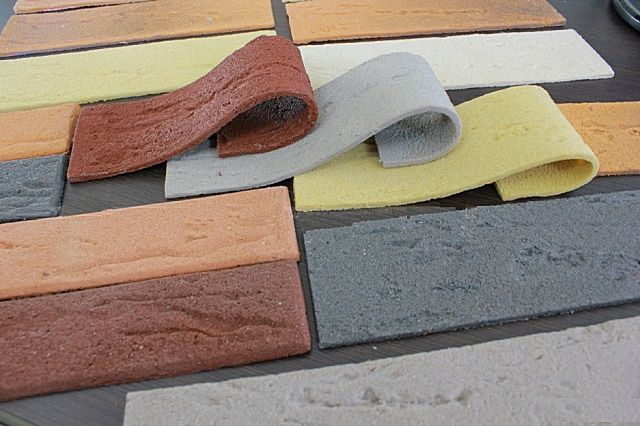 Современный отделочный материал – гибкая плитка под кирпич
