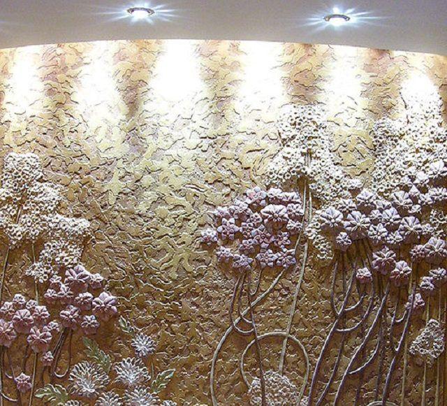 Декоративная штукатурка способна придать стенам совершенно неповторимый облик