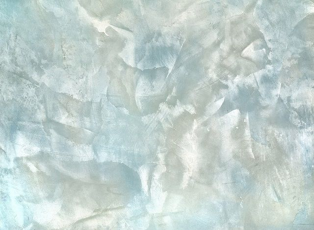 Штукатурка в технике «мокрый шелк»