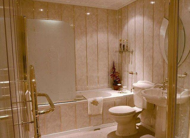 ПВХ-вагонка – одно из лучших решений для отделки ванных комнат