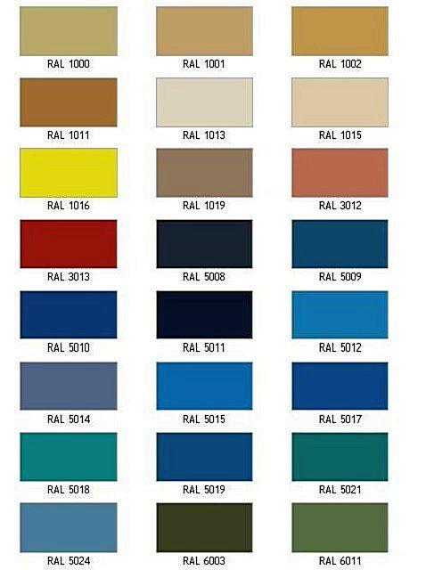 Панелям «Латонит» могут придаваться очень яркие, насыщенные цвета