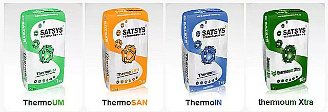 Линейка теплых штукатурок компании «Satsys Technology»