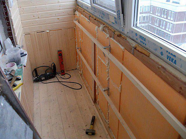 Калькулятор расчета толщины утепления лоджии или балкона