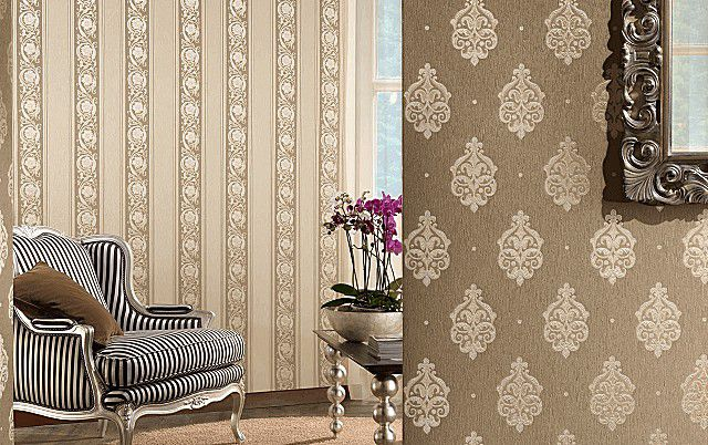 Следование древним традициям – отделка стен текстильным материалом