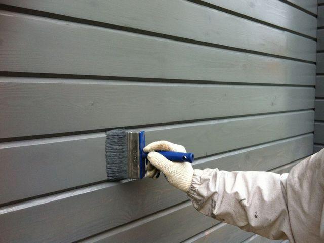 Калькулятор расчета акриловой краски для отделки деревянного фасада
