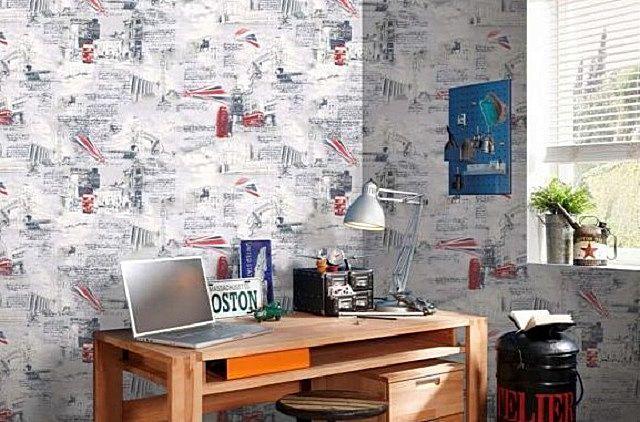 Бумажные обои – очень неплохое решение для подростковой комнаты