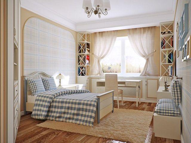 Один из самых «уютных» стилей оформления комнаты – «прованс»