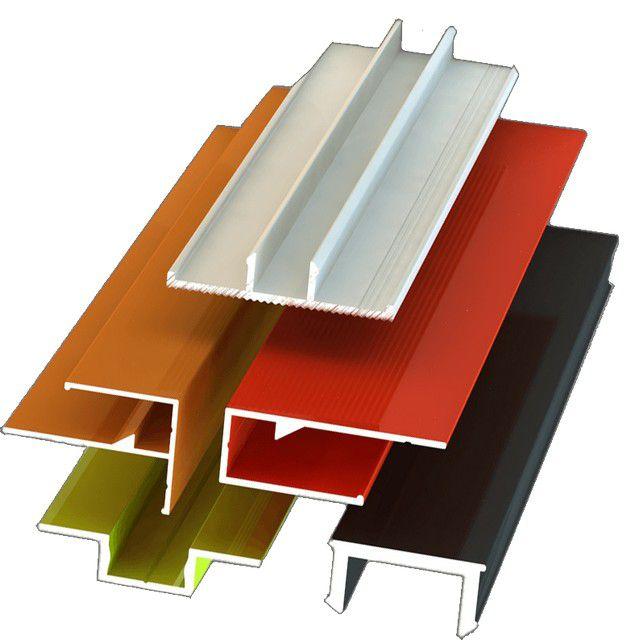 Алюминиевые направляющие различных типов для каркасного крепления негорючей панельной отделки