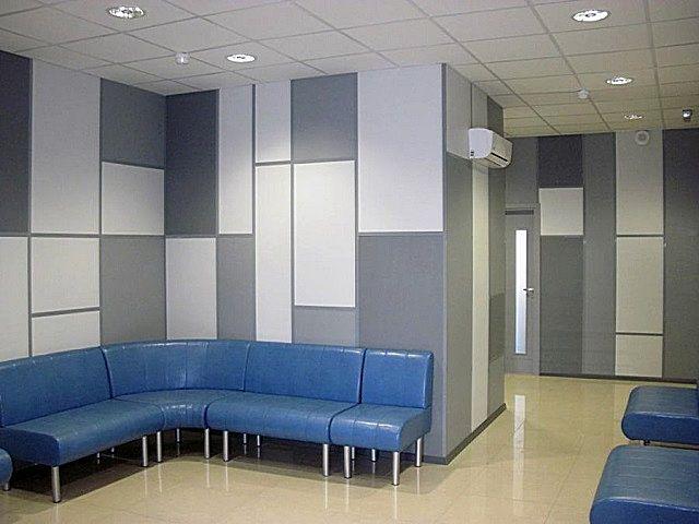 В общественных зданиях всегда действуют повышенные требования по обеспечению пожарной безопасности, и потому отделка с помощью негорючих декоративных панелей – отличное решение