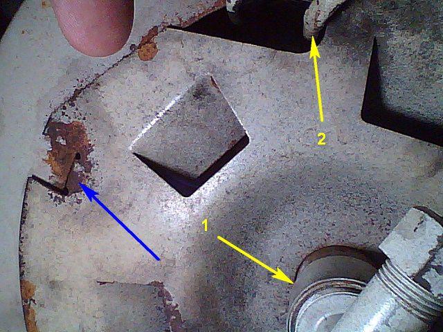 Вид на донную часть котла – фото 1