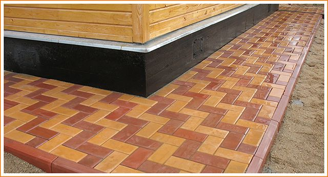 Отмостка вокруг дома как правильно сделать мягкая бетонная и др.