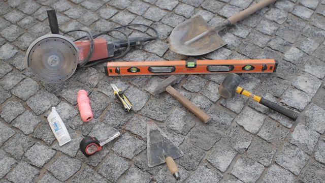 Набор инструментов для оборудования поверхностного водоотвода