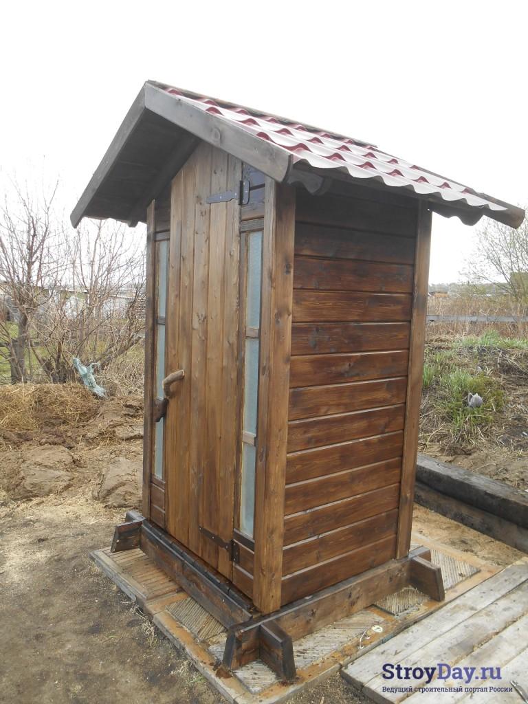 Фотография туалета сбоку