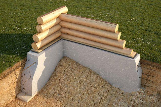 Базовыми величинами для строительства ленточного фундамента будут являться ширина ленты и глубина её заложения в грунт