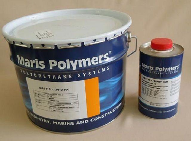 Пример двухкомпонентной гидроизоляционной полимер-битумной мастики