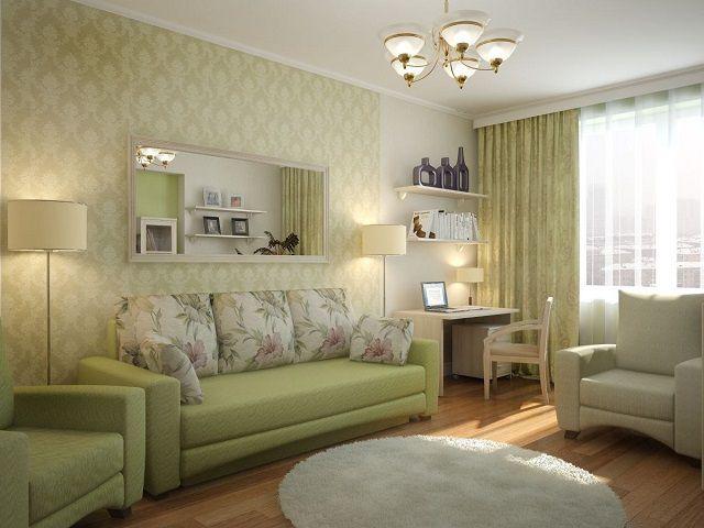 Спальная-гостиная в «хрущевке»