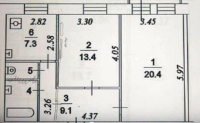 Исходным документом для дальнейших «походов по инстанциям» должен служить продуманный план желаемой перепланировки квартиры