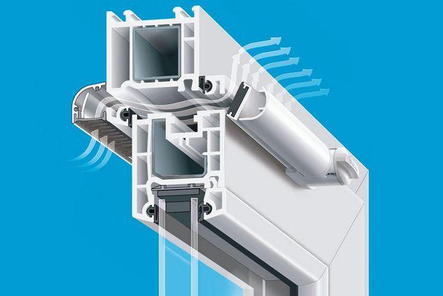 Многие модели современных окон со стеклопакетами еще на стадии изготовления сразу оснащаются приточными вентиляционными клапанами с возможностью регулировки