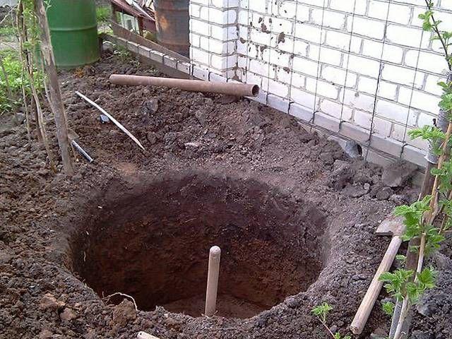 Если обстоятельства таковы, что яму приходится размещать в непосредственной близости от стен бани, необходимо предусмотреть несколько конструктивных особенностей
