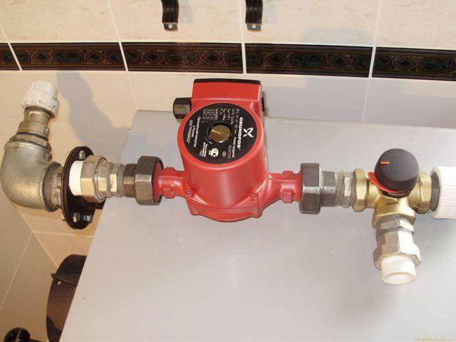 «Движущая сила» современных систем отопления - циркуляционный насос