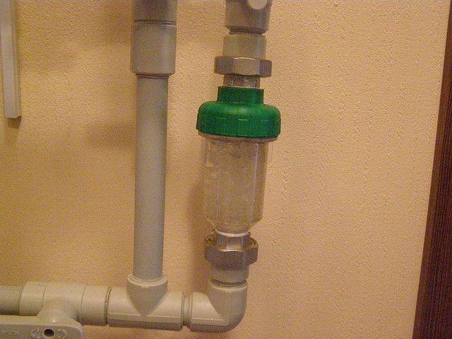 Полифосфатный фильтр в узле подпитки