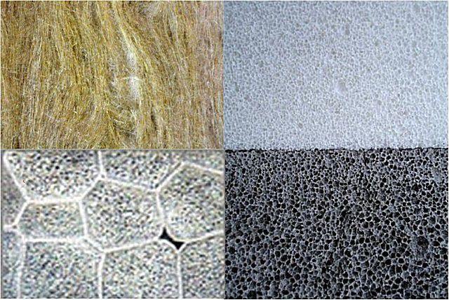 Практически все утеплители представляют собой пористую газонаполненную структуру, обладающую низкими показателями теплопроводности
