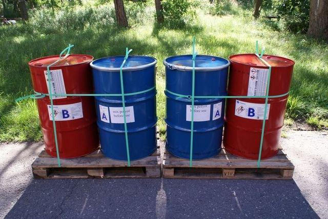 Комплекты исходных химических компонентов для утепления строительных конструкций пенополиуретаном