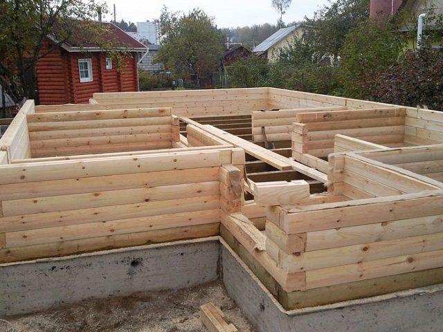 ЭКОкуб Строительство домов из оцилиндрованного бревна по