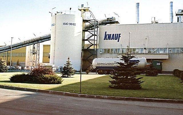 Производственные мощности «Knauf» размещены во многих странах, и продукция – постоянно востребована. На снимке – завод в городе Красногорске