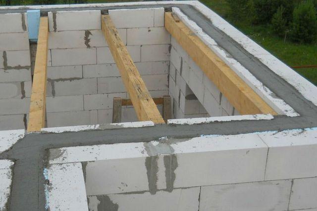 армопояса бетон