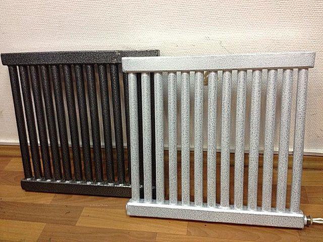 Такие регистры уже больше походят на привычные радиаторы отопления