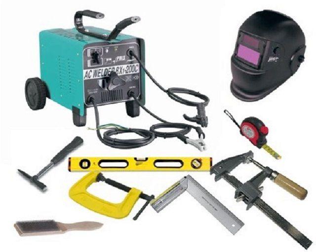Стандартный набор для выполнения электросварочных работ