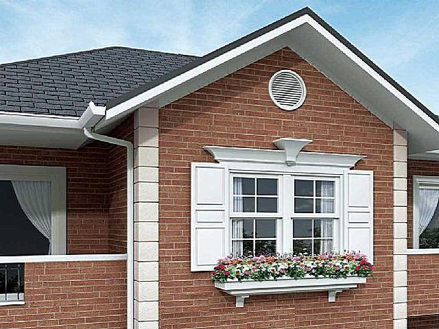 Фасадные панели под дерево металлические и ламинированные для наружной отделки фасада дома