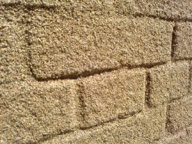 Напыленное пробковое покрытие стены
