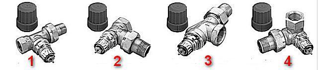 Буксы – совершенно одинаковые, но взаимное расположение клапанной части и патрубков входа и выхода – отличается