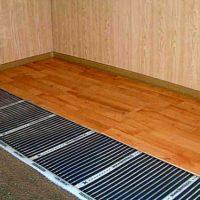 Теплый пол под ламинат на деревянный пол