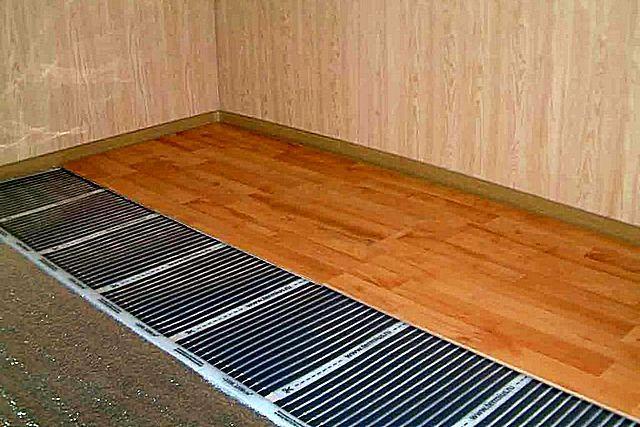 Как сделать тёплый деревянный пол 20
