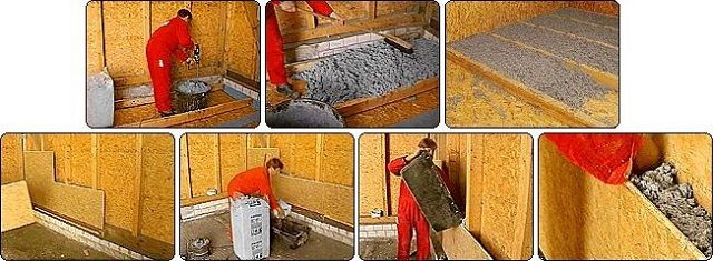 Утепление сухой эковатой конструкций каркасного дома – перекрытия и стен
