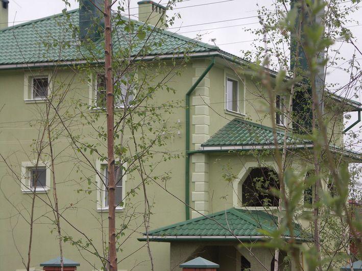 Металлочерепицу Металл Профиль применяют для реконструкции зданий и сооружений