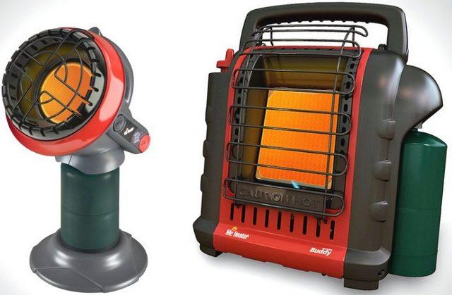 Очень оригинальные модели переносных газовых каталитических обогревателей