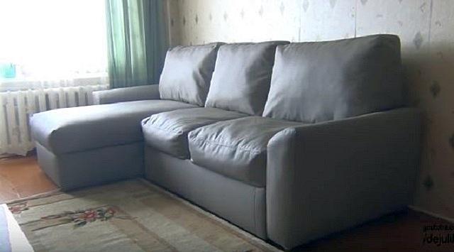 В итоге может получиться вот такой симпатичный и удобный диван